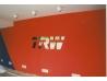 TRW Frýdlant - plastický 3D nápis nerez,