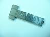 Řezání do nerezu, klíčenka KAMAX - CO2 laser